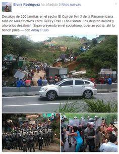 Desalojo El Cuji Caracas