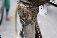Cycling style on the Tweed Run