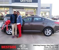 #HappyBirthday to Patricia Mcdade from William Hadnott at Westside Kia!