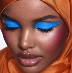 Halima Aden for @crfashionbook. Love the warm-cool contrast. Halima made history this week by becoming the first hijabi model to be on a Vogue cover  Rg @kinglimaa  via MARIE CLAIRE SOUTH AFRICA MAGAZINE OFFICIAL INSTAGRAM - Celebrity  Fashion  Haute Couture  Advertising  Culture  Beauty  Editorial Photography  Magazine Covers  Supermodels  Runway Models
