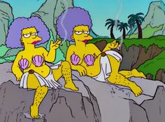 I've never liked the way Patty and Selma treated Homer, but they've always rocked the body positivity message.