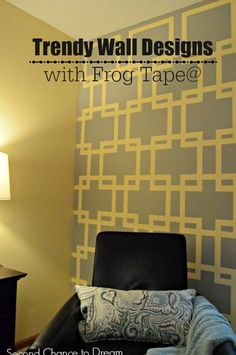 Second Chance to Dream: Trendy Wall Designs with Frog Tape #ad @frogtape