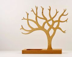 Jewelry Tree by slowbuildstudio on Etsy
