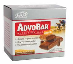 AdvoBar™ Snack. ThermoPlus™.  AdvoCare.  Sustained energy and mental clarity.  Buy from www.LiveWithASpark.com