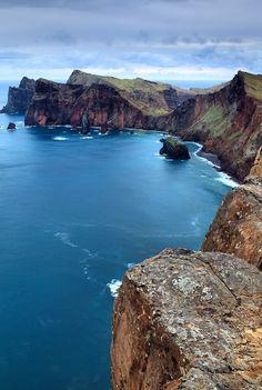 pretty costal island cliffs