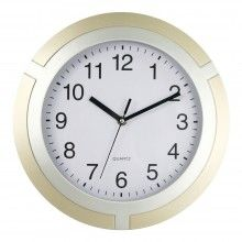TWO TONE ROUND WALL CLOCK