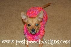Posh Pooch Designs Dog Clothes: I Need a Easy Dog Sweater