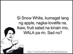 Filipino Lines and quotes Rhix Cathy Filipino Funny, Filipino Words, Filipino Quotes, Pinoy Quotes, Tagalog Love Quotes, Funny Hugot Lines, Hugot Lines Tagalog Funny, Tagalog Quotes Hugot Funny, Memes Tagalog