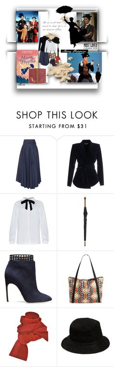 """""""Who doesn't love Mary Poppins"""" by wodecai ❤ liked on Polyvore featuring TIBI, Balmain, Alexander McQueen, Sergio Rossi, Volcom, Prabal Gurung and Alexander Wang"""