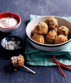 Olives all'Ascolana (stuffed olives) - Gourmet Traveller Italian Dishes, Italian Recipes, Italian Cooking, Tapas, Stuffed Olives, A Food, Food And Drink, Recipe Search, Gourmet