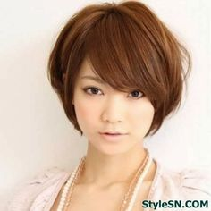 The Short Fly-away Bob Hairstyle