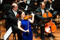 Violinista Simone Porter em ação na Sala Cecília Meireles. Foto: Cicero Rodrigues. OSB - Orquestra Sinfônica Brasileira