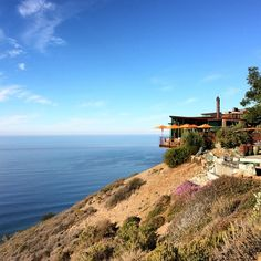 Two hours from San Francisco and a thousand feet above the crashing waves awaits Post Ranch Inn, a series of foliage-shrouded Tree Houses and ultra-private cottages. Photo courtesy of eahoneymoons on Instagram.