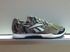 New Digital Camo CrossFit Nano cross-fit shoes  from Reebok!!!! ONLY at The Athlete's Foot in Midtown!!!!!    205-752-7463  http://facebook.com/tafalabama