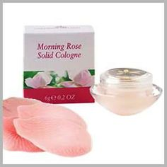 Our Morning Rose Solid Cologne is brilliant. The scent of roses drenched in Irish morning dew is just breathtaking and now you can take it home with you. Just a dab and you too can imagine yourself in the middle of an Irish rose garden in bloom.