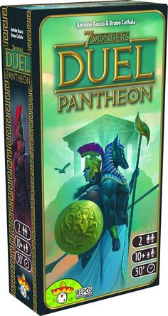 Amazon.com: 7 Wonders: Duel Pantheon Expansion Card Game (2 Players): Toys & Games