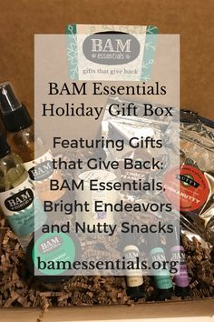 BAM Essentials Holiday Gift Box - Gifts That Give Back