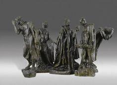 Les Bourgeois de Calais (Deuxieme Maquette) (1885) by Auguste Rodin.