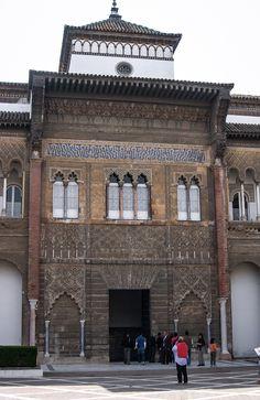 Palacio del rey don Pedro I, Patio de la Montería, Reales Alcázares (Sevilla - Spain)