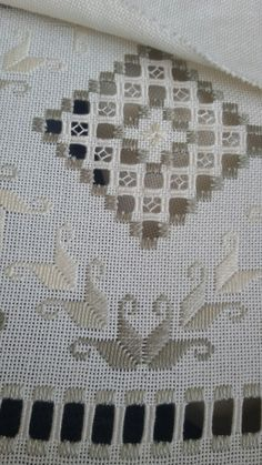 Getting to Know Brazilian Embroidery - Embroidery Patterns Types Of Embroidery, Embroidery Patterns, Hand Embroidery, Embroidery Stitches, Drawn Thread, Hardanger Embroidery, Fabric Yarn, Cross Patterns, Crochet Stitches