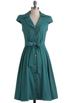 Crepe Shop Dress | Mod Retro Vintage Dresses | ModCloth.com