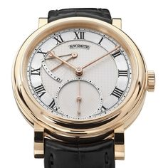 Roger W Smith Series He is a watchmaker and was inspired by someone called  Dr. He set up his own workshop in the Isle of Man and makes watches by hand  ... 93d6c99bb083