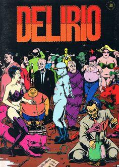 Delirio, 1995 Grafica e immagine Stefano Zattera
