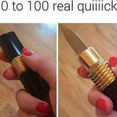 Funny pics, memes and trending stories Crazy Funny Quotes, Funny Memes, Hilarious, Lipstick Knife, The Funny, I Laughed, Laughter, Funny Pictures, Funny Pics