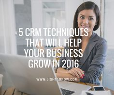 CRM Techniques You'll Use.