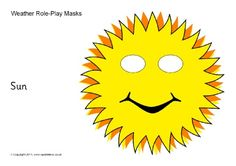 Weather role-play masks (SB10408) - SparkleBox
