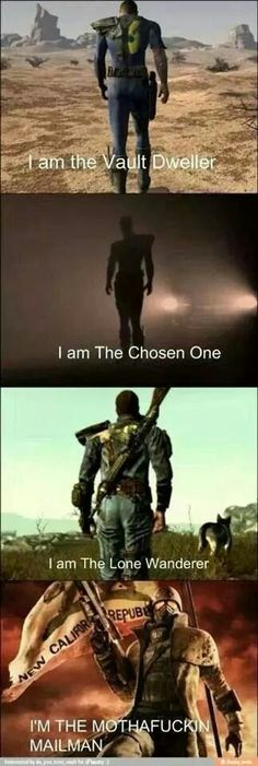 If u play fallout u know this is funny