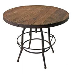small round wooden table tops