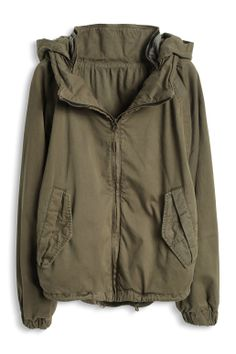 Cropped #parka by #Esprit