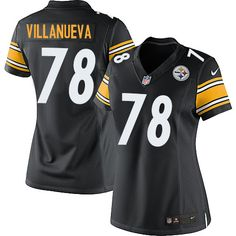 Nike Elite Alejandro Villanueva Black Women s Jersey - Pittsburgh Steelers   78 NFL Home Nhl Jerseys 9b6d081a9
