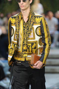 b6f79cefab Mens Versace Hipster Fashion, Men Fashion Show, Mens Fashion Suits, Fashion  Killa,