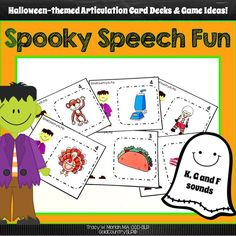 72 picture stimuli cards with K, G and F sounds in all positions of words.
