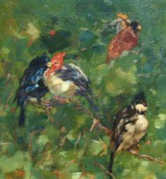 Willem de Zwart, Tropische vogels