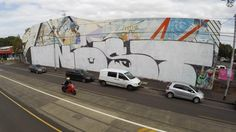 An infamous graffiti tagger has defaced a 30-year-old mural depicting Northcote women so badly it is probably beyond saving.