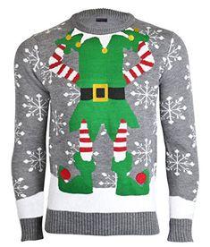 Noroze Herren Damen Unisex Neuheit Weihnachten Pullover Strickpullover 386db4acdb