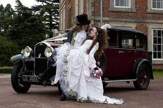 Rosie & Kerry's fantastical fairytale costume wedding