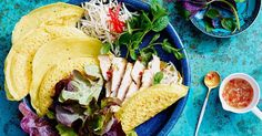Crispy Vietnamese pancake with lemongrass and ginger chicken. There's no need to go out for a gourmet dinner when you can cook these delicious chicken recipes in a fraction of the time. Brought to you by Lilydale