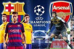 Prediksi Barcelona vs Arsenal 17 Maret 2016