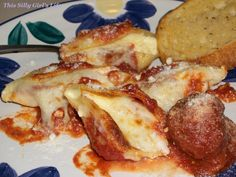 Stuffed Shells - This Silly Girl's Kitchen