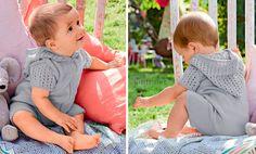 Комбинезон с капюшоном.Комбинезон с капюшоном выполнен из детской пряжи платочной вязкой и ажурным сетчатым узором. Малышу в таком наряде будет комфортно.