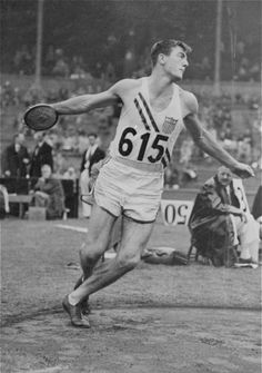 When he was just 17 years old, Bob Mathias captured his first gold medal in the decathlon at the 1948 Games in London. Four years later, he became the first man to successfully defend a decathlon gold, winning another at the 1952 Games in Helsinki. www.legend-s.co.uk
