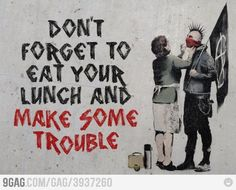 Don't forget to eat your lunch