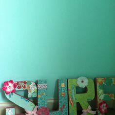 Surf room colors! & like the modge pudge idea!!!