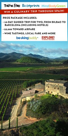 #Win A Culinary #Trip To Spain! #contest #travel #holiday
