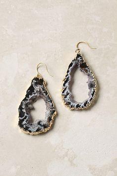 Anthropologie agate earrings