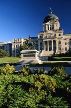 State Capitol Building in Helena, Montana